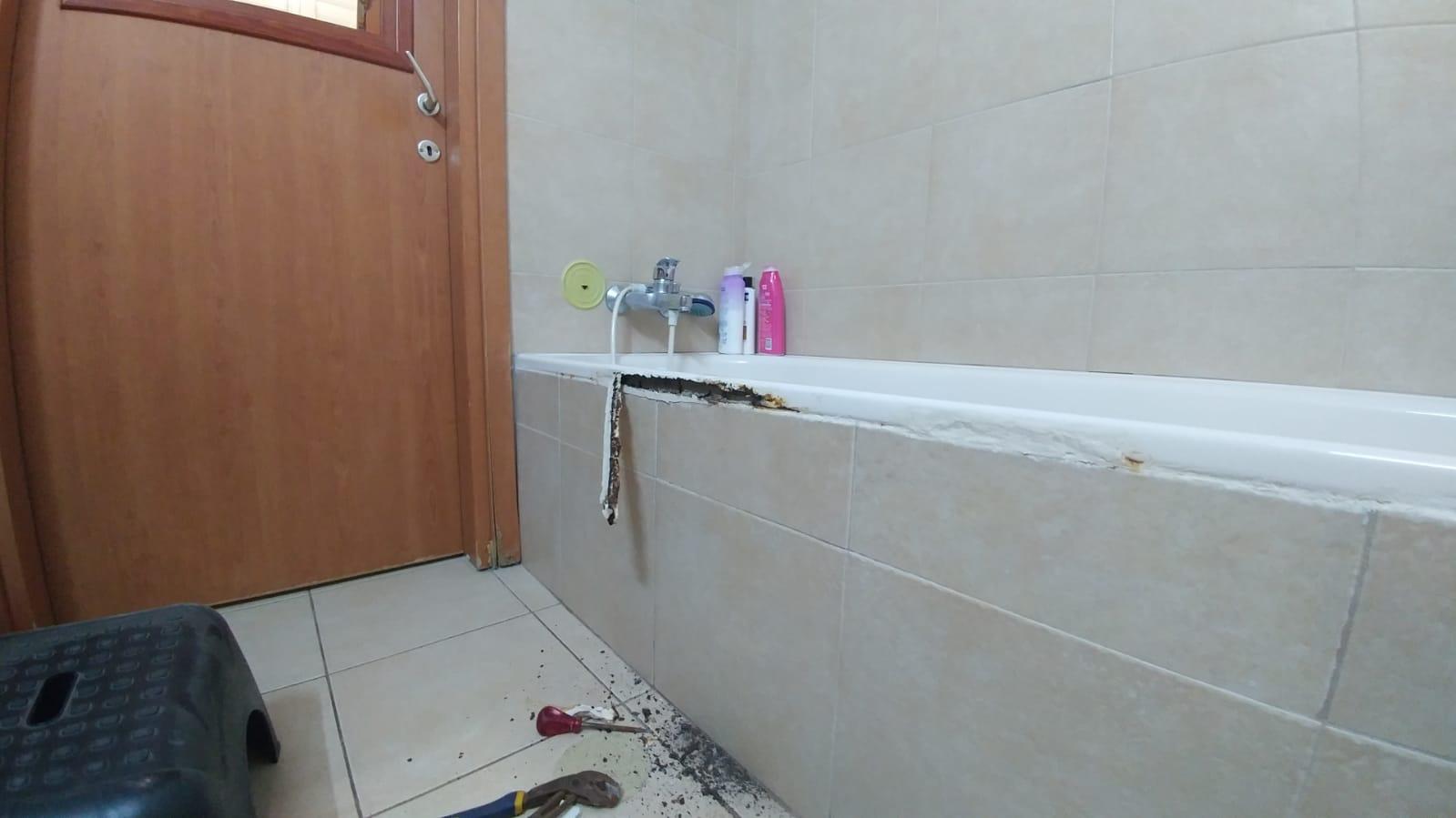 תיקון קנט באמבטיה